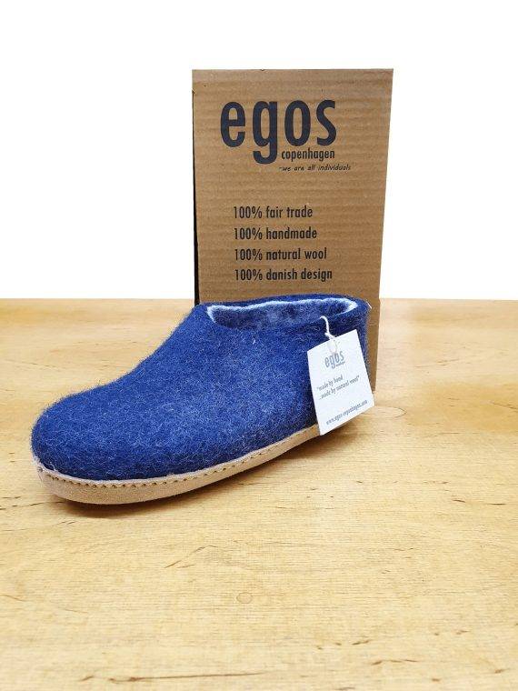 Egos Children Blue Shoe Slipper