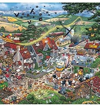 I Love the Farmyard Jigsaw Puzzle