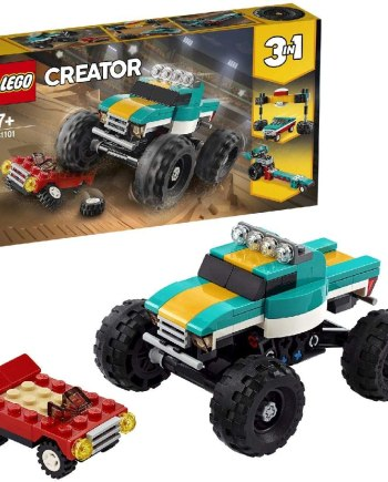 LEGO 31101 Creator 3 in 1 Monster Truck - Muscle Car - Dragster