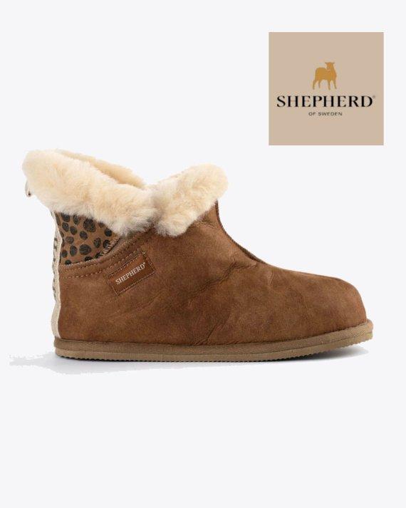 Shepherd Bella Chestnut Leopard