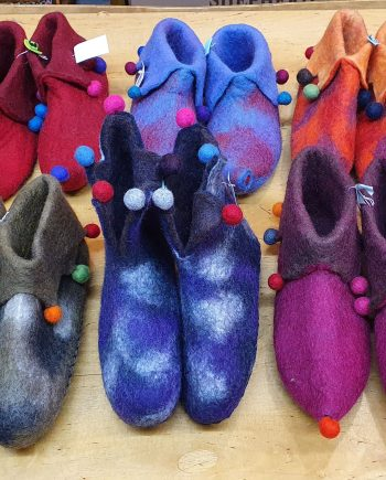 Adult Jester Slippers