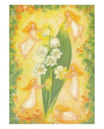 Flower Fairies Folded Card