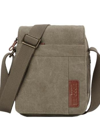 Classic Canvas Across Body Bag TRP0220 by Troop London