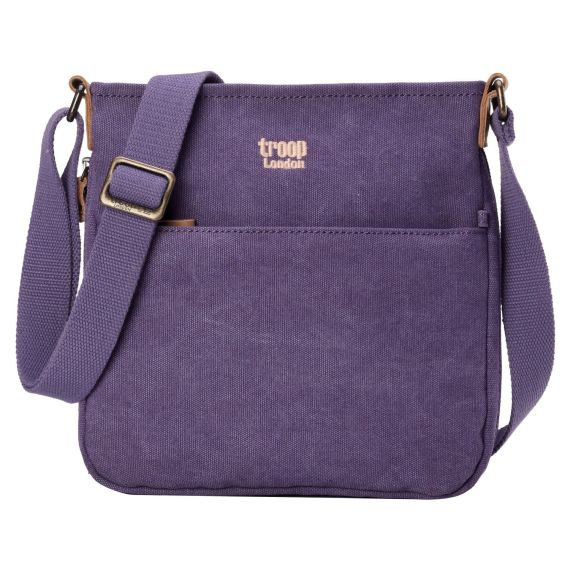 Classic Canvas Across Body Bag TRP0237 by Troop London