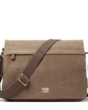 Troop London Classic Canvas Messenger Bag TRP0241 5 Colours