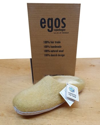 egos mule slipper mustard