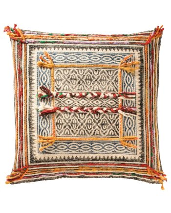 Namaste Tribal Indian Embroidered Cushion Cover