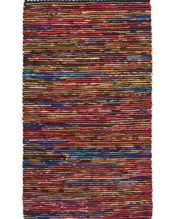 Namaste Recycled Cotton and Fleece Chindi Rug 90 x 150cm