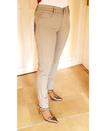 Coloured Stretched Skinny Voggo Jeans