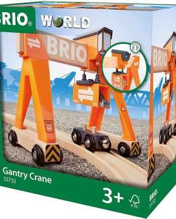 BRIO World - Harbour Gantry Crane