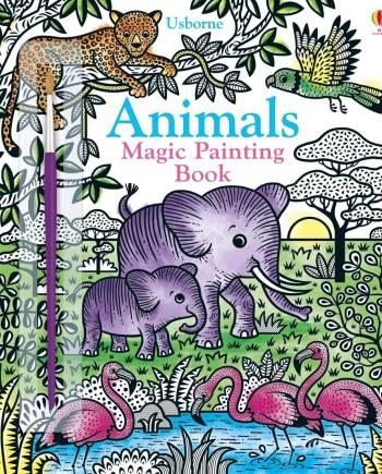 Animals Magic Painting Book