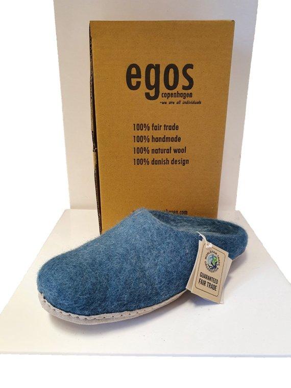 Egos Sea Blue Mule Slipper