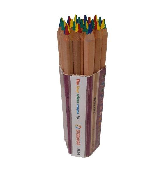 Stockmar 4 Colour Pencil