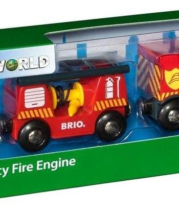 BRIO World - Fire & Rescue Emergency Fire Engine