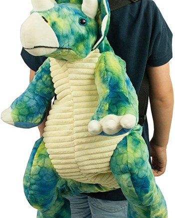 Great Gizmos Triceratops Dinosaur Backpack