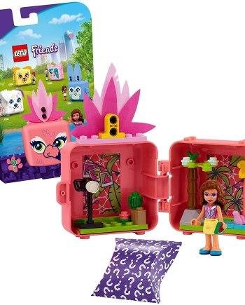LEGO 41662 Friends Olivias Flamingo Cube Series 4 Mini Set
