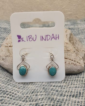 Ibu Indah 210 Silver Earrings