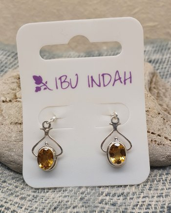 Ibu Indah 211 Silver Earrings