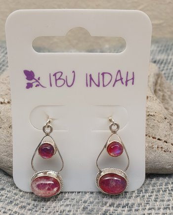 Ibu Indah 215 Silver Earrings
