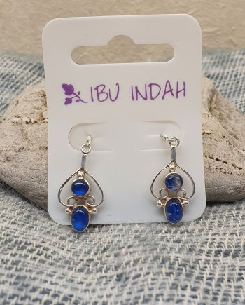 Ibu Indah 253 Silver Earrings