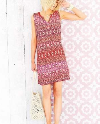 Elisa Dress Nimrana Print