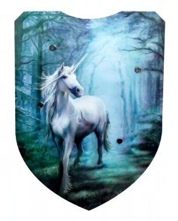 3D Shield Unicorn
