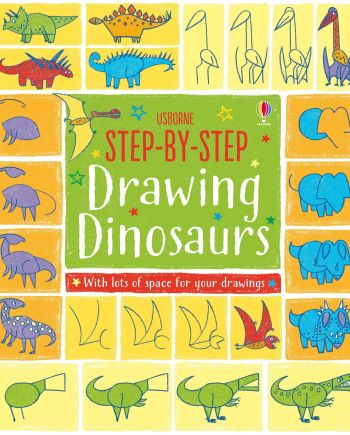 Drawing Dinosaurs Book