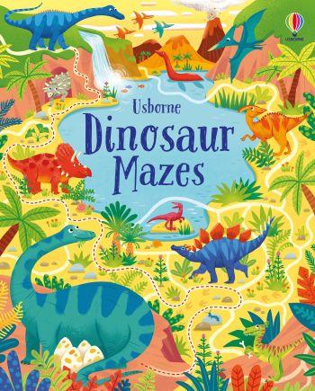 Dinosaur Mazes Book