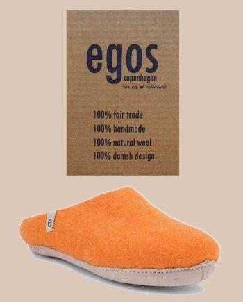 Egos Orange Mule Slipper