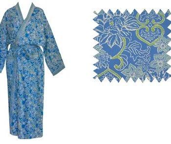 Dressing Gown Kimono Paros Floral