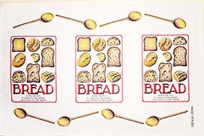 Simon Drew Bread Tea Towel