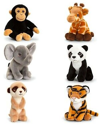 Keeleco Collectables Assorted Wild 12cm