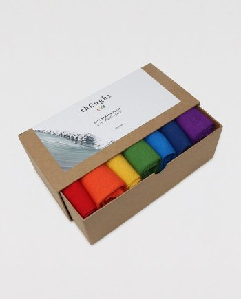 Thought Colours of Rainbow Baby Sock Box