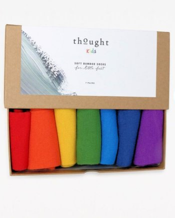 Thought Colours of Rainbow Kids Sock Box