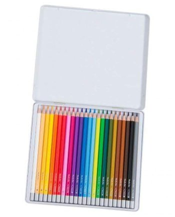 24 Set Watercolour Pencils by Moulin Roty