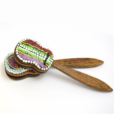 Castanet Hand Painted