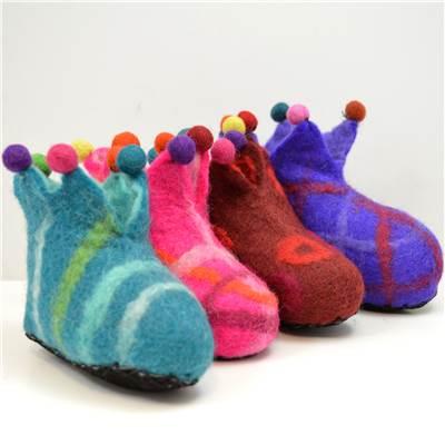 Children's Jester slippers