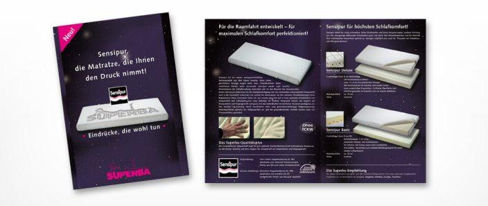 Graphic Design Produkte-Prospekt