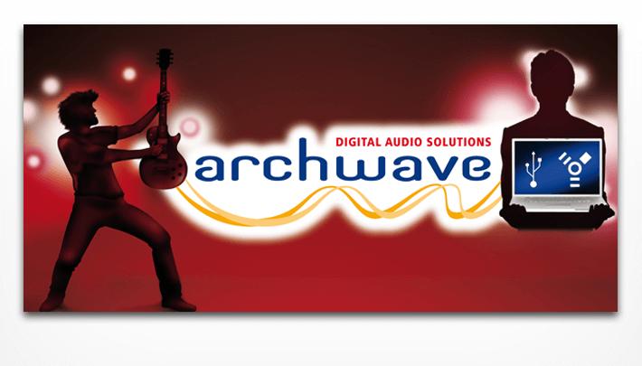 Illustrationen Key-Visuals; Guitarplayer