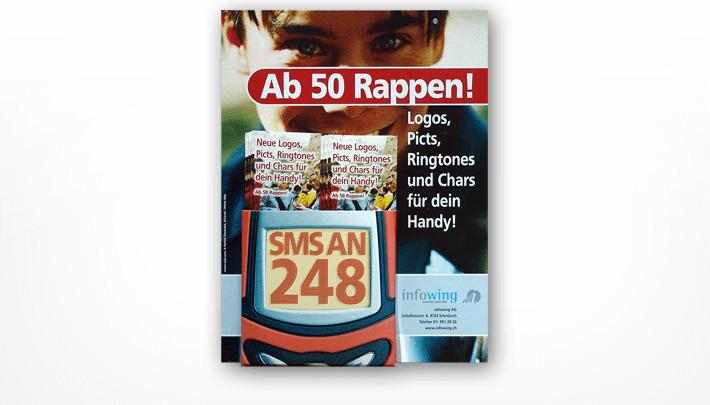 S-Bahn Prospekten-Display-Kampagne Infowing