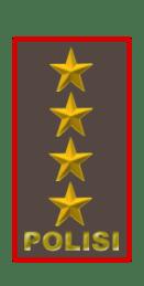 pangkat polisi tertinggi bintang 4