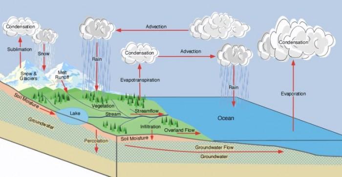 Siklus Hidrologi Pengertian Proses Dan Gambar Siklus Air Salamadian