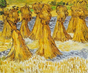 Sheaves of Wheat by Vincent Van Gogh OSA428