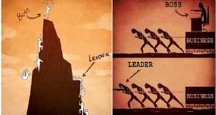 entrepreneur harus menjadi pemimpin bukan boss