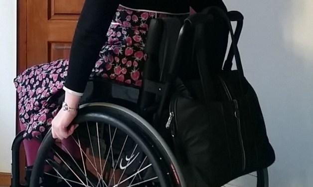 rolstoel werk tas