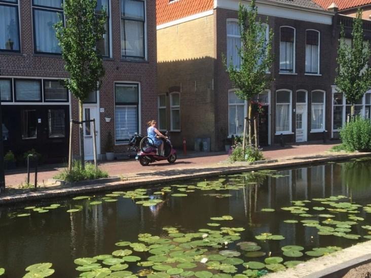 rietveld delft rolstoel scooter