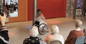 shimmy shake talent search fusion buikdans rolstoel