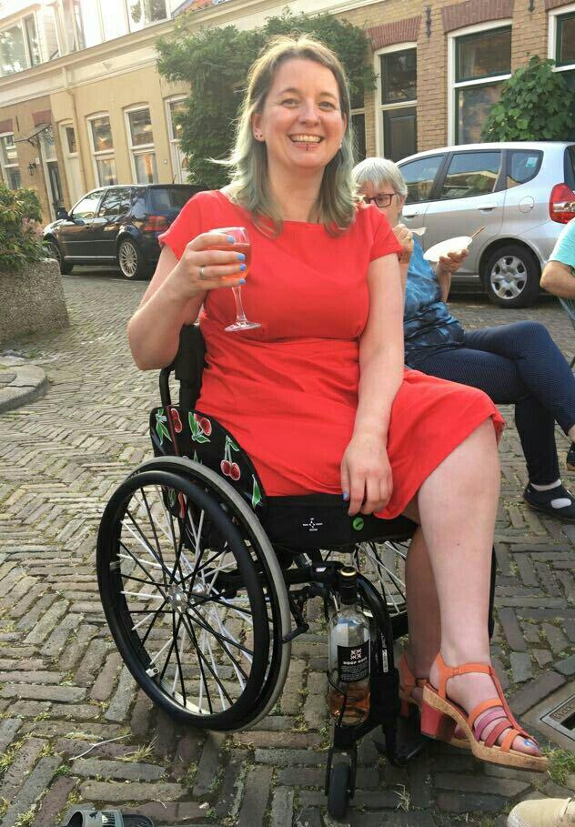 wijn rolstoel
