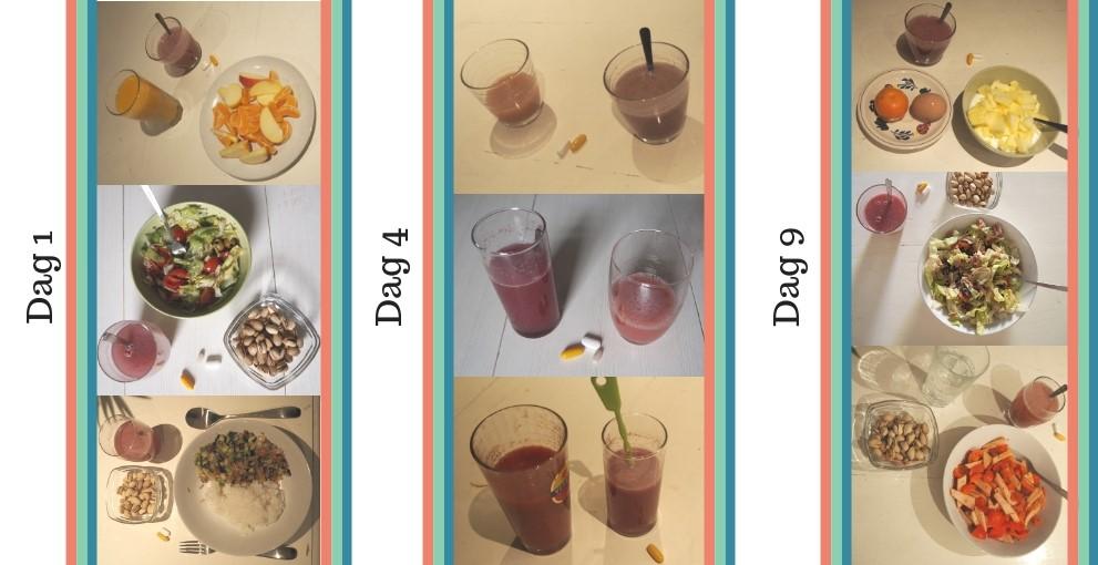 sportvasten maaltijden
