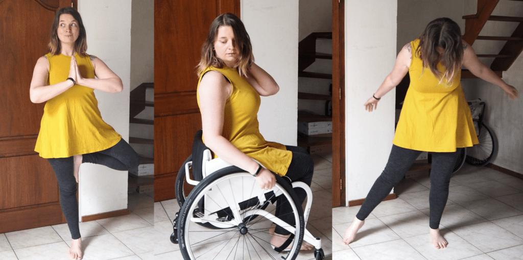 dansshirt geel rolstoeldans